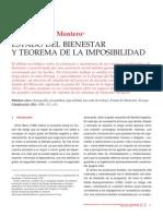Estado Del Bienestar y Teorema de La Imposibilidad