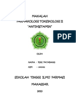 MAKALAH ANTIHISTAMIN