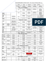 Mid Sem Exam Time Table -Revised Oct 2013