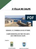 Trofeo Villa de Calpe 2013