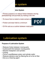 Lubrication and Cooling System of automobile