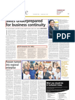 SME Under Prepared for BCM, Business Times.