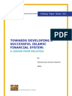 Developing Islamic Financial System