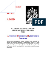 DLA for Children With ADHD