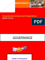 Corporate Governance in Cooperatives
