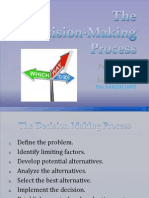The Decision‐Making Process