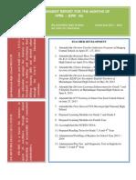Accomplishment Report for June 2013