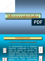 Introd Microcontroladores