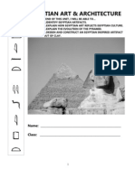 Egyptian Art & Architecture Packet