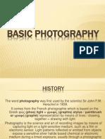 Basic Photography Report
