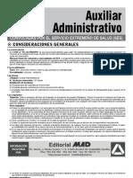 SES Auxiliar Administrativo