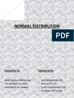 Normal Distribution Final Ppt (1)