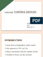 Cruise Control Device