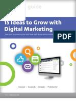 15 Ideas Digital Marketing