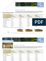 Bamboo Living Pricelist