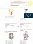 Grade6- Units 1-2 Family,Hobbies - Tests 1-4