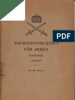 Soldatinstruktion for Armen (Swedish, 1951)