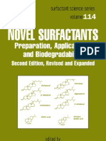 Novel Surfactants Preparation, Applications, And Biodegradability, Second Edition (Surfactant Science)