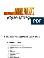 Case Study Format