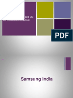 Comparative study between Samsung and LG on Distribution Channel