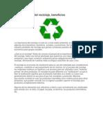 Reciclaje de Periodico