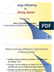 Energy Efficiency in Mining for Int.workshop