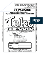 12 Deteminants & Matrices Part 1 of 6
