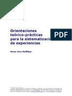 Orientaciones Teorico Practicas Sistematizacion Oscar Jara-unprotected