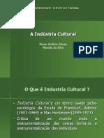 a industria cultural adorno - apresentação