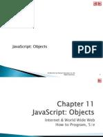 Web Programming Ch. 11