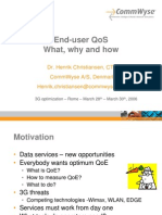 End-user QoS - CommWyse