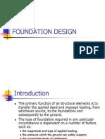 Foundation design.ppt