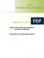 Racism and Related Discriminatory Practices in Slovakia