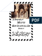Biography of Hazrat Maulana Mufti Kifaya - Free Copy