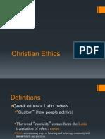 Intro to Christian Ethics