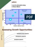 Resource Allocation- BCG matrix