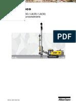 Manual Operacion Mantenimiento Perforadora Jumbo Roc l6 l8 Atlas Copco