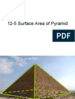 12-5 Surface Area of Pyramid