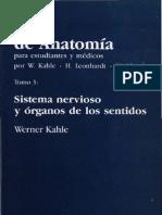 PDF Neuroanatomía Atlas de Anatomía Sistema Nervioso y Organos de los Sentidos