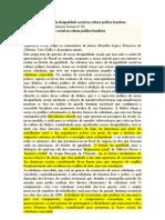 Teresa Sales - Raízes da Desigualdade Social na Cultura Política Brasileira