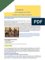 Omilo Newsletter October 2011