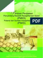 Buku Panduan Pendataan PMKS PSKS