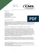 Contestación del Det de Salud federal