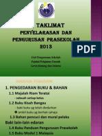 Taklimat Pengrusan Pra Kali Ke 2_2013