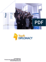 Rapport Annuel Youth Diplomacy 2012-2013