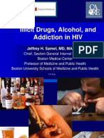 Hiv and Drug Abuse.