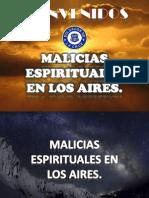 Malicias Espirituales en Los Aires