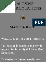 TEXT 5. Analyze Linear Eq