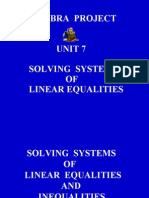 TEXT 7. Solving Linear Systems