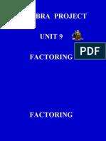 Text 9. Factoring